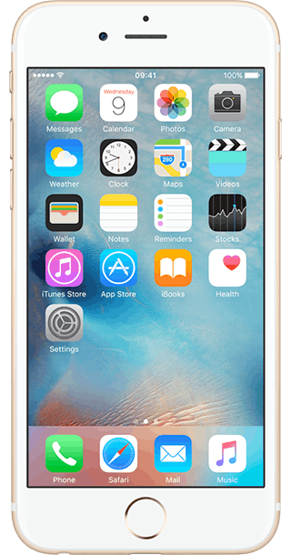 Apple iPhone 6s - Front
